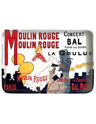 Vide-Poche Moulin Rouge Lautrec Assortis 15 X 10 8499651000Ça et Là
