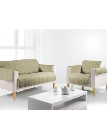 Protège-fauteuil Linea Argile 160 X 179 8259072401Les Ateliers du Linge