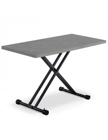 Table basse relevable Duke Effet Béton n121concrete