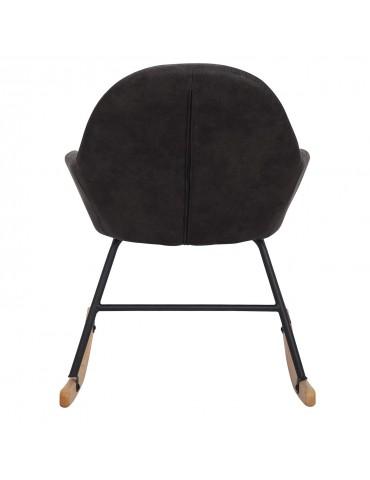 Rocking Chair Virtuoz Tissu Vieilli Noir wx29261yblack
