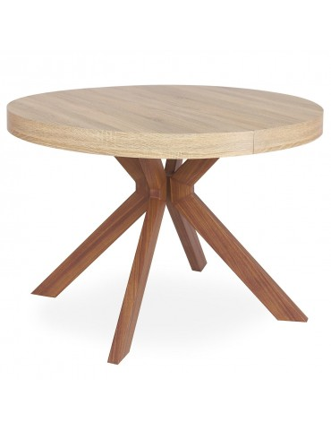 Table ronde extensible Myriade Sonoma at8244lsonoma