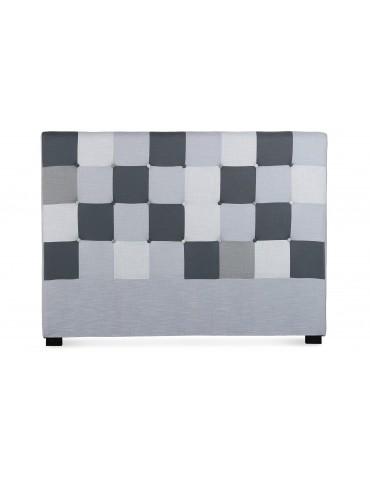 Tête de lit Luxor 160cm patchwork Gris LF155PA160