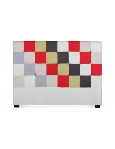Tête de lit Luxor 160cm patchwork Rouge LF155PB160