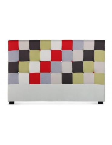 Tête de lit Luxor 180cm patchwork Rouge LF155PB180