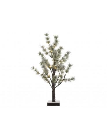 Sapin LED décoratif sur pied vert H.60cm DEO3705049