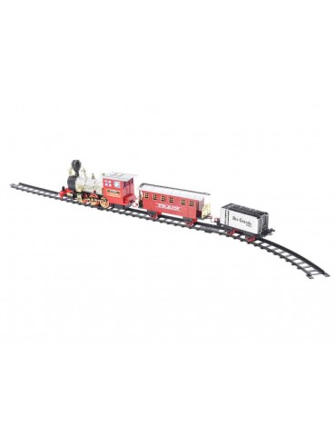 Train de Noël LED et musical avec rail CAMP DEO3705048