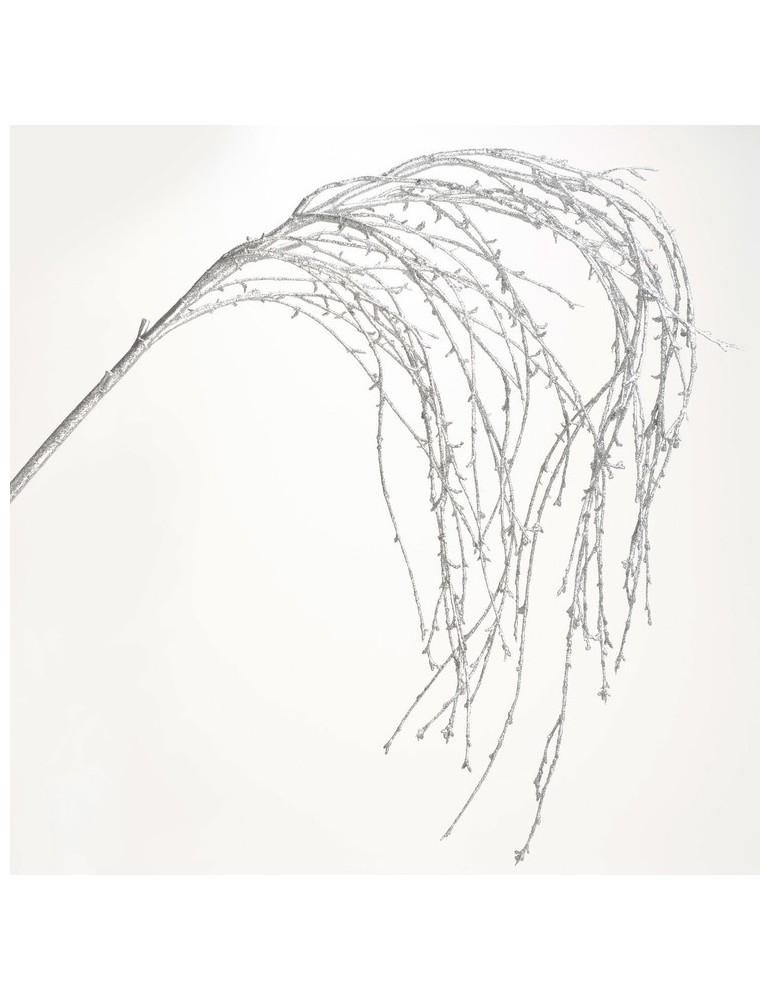 Branche d'arbre artificiel féérique argent H.145cm NATURE DFL2993282Amadeus