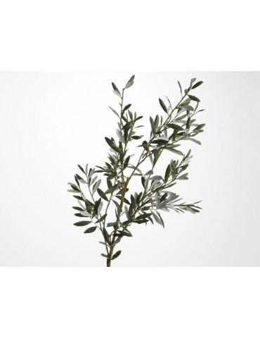 Branche artificielle d'olivier royal vert H.120cm NATURE DAA3520004