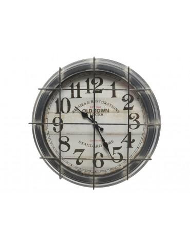 Horloge vintage métal grillagé D.41cm KLOK DHO3889022Decoris