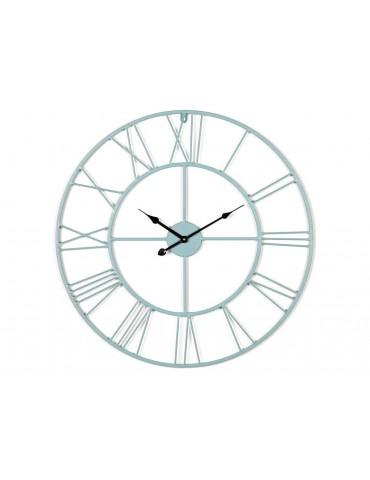 Horloge murale en métal ajouré vert d'eau D.60cm SAACAD DHO3345002Delamaison
