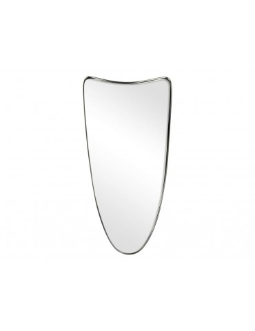 Miroir original irrégulier en métal étain 60x30x3cm FELLIE DMI3769005Pomax