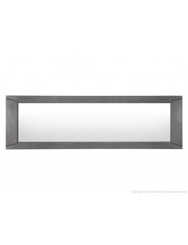 Miroir mural rectangulaire en bois L186xP3xH56cm BRUTS DMI1254768Artemob