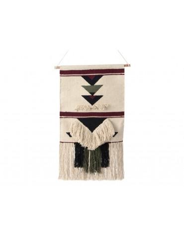 Décoration murale coton frange ethnique AILLEURS DMR3723060Amadeus