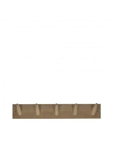 Patère murale en chêne M Hoox Pomax - Couleur - Naturel DPE3950010Pomax
