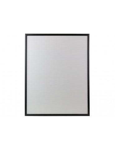 Tableau àlettres en bois gris et noir LAURE DMR3951143CMP