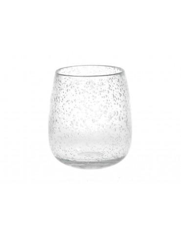 Vase en verre transparent PAOLA DVA3950020Pomax