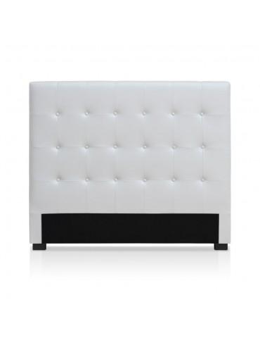 Tête de lit Luxor 140cm Blanc HB140-Blanc