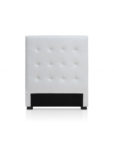 Tête de lit Luxor 90cm Blanc HB090-Blanc