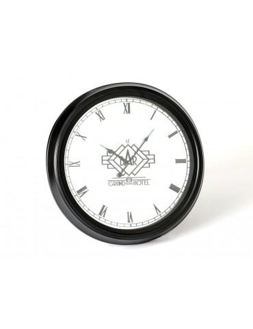 Horloge murale noire ronde D.62cm GRAND HOTEL DHO3723022Amadeus
