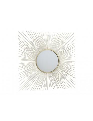 Miroir soleil en acier D.72cm LULLY DMI3889027Decoris