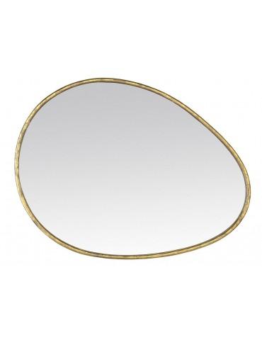 Léoville - Miroir en métal 60x80 cm - Couleur - Or DMI3737003Drawer
