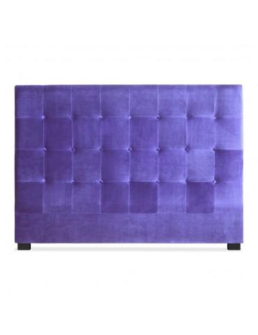 Tête de lit Luxor 160cm Velours Violet lf155h160vviolet