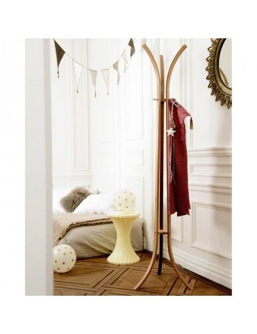 Porte manteau 3 branches en bambou BAMBUK DPE4368032Compactor Home