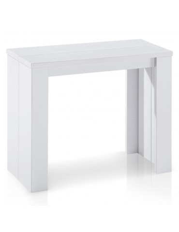 Table Console Brookline Blanc at-9011-Blanc