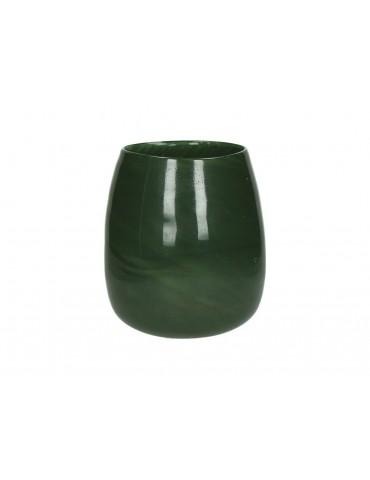 Vase en verre vert PAOLA DVA3950021Pomax