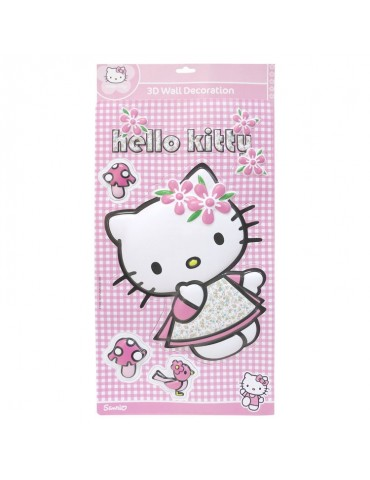 Sticker mural HELLO KITTY BDE1179133Fun House
