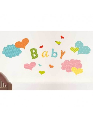 Sticker mural enfant 49x69cm LUDIQUE BDE4321015Nouvelles Images