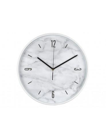 Horloge murale ronde en plastique effet marbre D.37.8cm TIMING DHO3951187Anytime