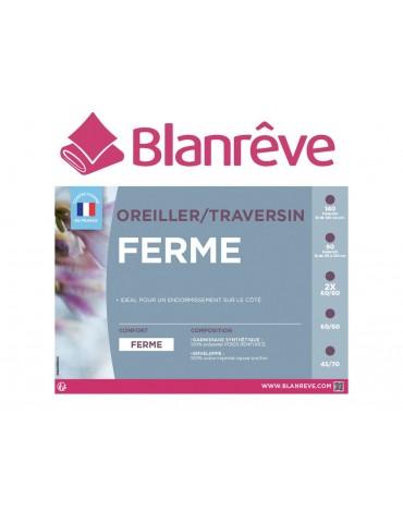 Traversin 140cm synthétique ferme enveloppe coton FERME LTC4324039Blanrêve