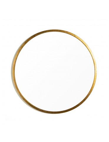 Miroir rond métal doré vieilli DMI4057002Delamaison