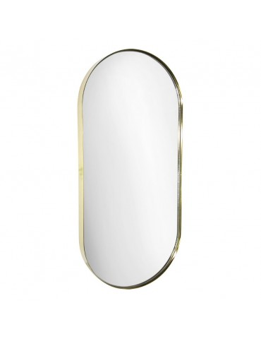 Miroir en acier 55x25x3.5cm DMI4050001Delamaison