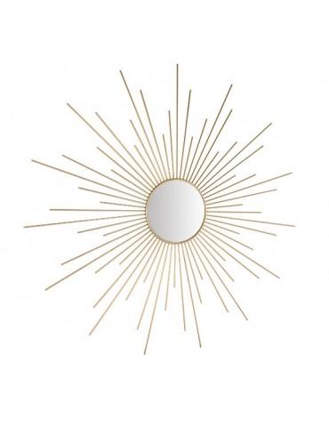 Miroir soleil doré D.95cm DMI4050006Delamaison
