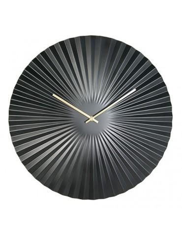 Horloge murale ronde effet éventail D.50cm DHO4050009Delamaison
