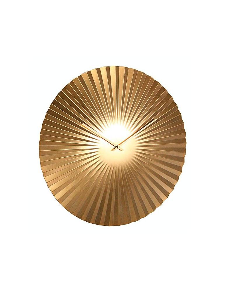 Horloge murale ronde effet éventail D.50cm DHO4050010Delamaison