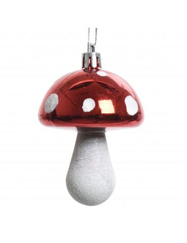 Suspension de noël champignon des bois - Set de 2 DEO4063048Decoris