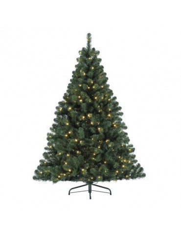 Sapin LED artificiel épine dense hauteur 210cm DNO4063301Decoris
