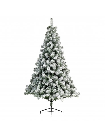 Sapin artificiel enneigé H.120cm DNO4063291Decoris