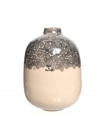 Vase en terre cuite bicolore rose DVA4035174Decoris