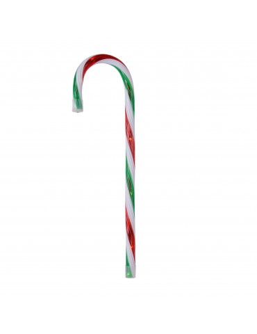Sucre d'orge LED de noël à accrocher DEO4063430Decoris