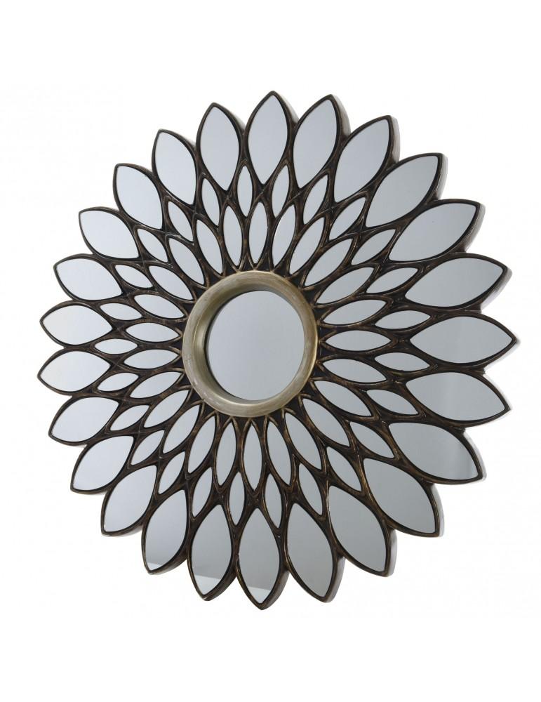 Miroir design effet rosace D.101cm DMI4063432Decoris
