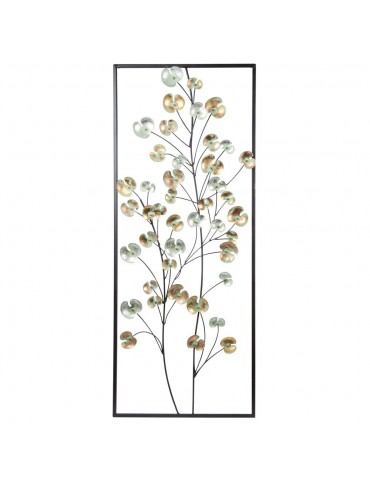 Décoration murale florale H100x40cm DMR4125085Table Passion
