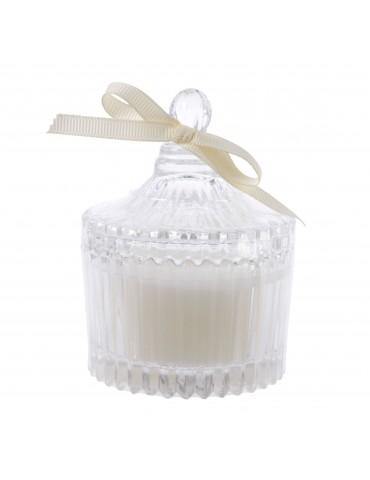 Bougie parfumé en pot senteur jasmin DEC4063152