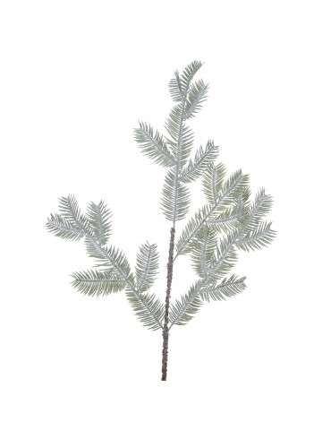 Branche verte artificielle de sapin givré DAA4063549