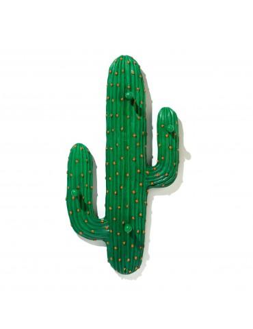 Patère cactus en résine vert avec 4 accroches DPE4122006Delamaison