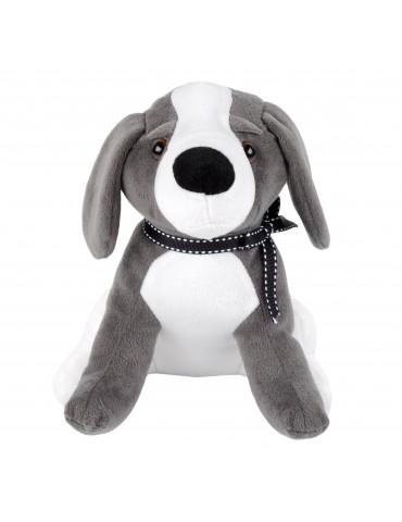 Cale porte en polyester gris en forme de chien PAUL DRA4132002Stof