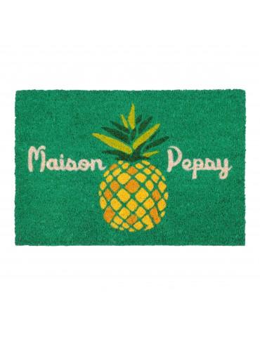 Paillasson en coco à motif ananas 40x60cm PEPSY DPA4134004Stof
